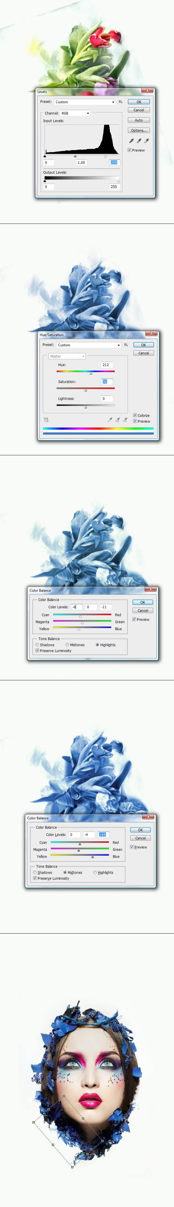 Как в фотошопе сделать индексированные цвета