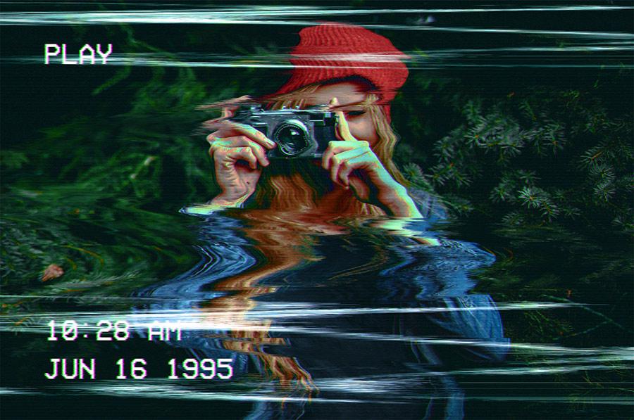 фильтры группы distort (деформация) в фотошопе