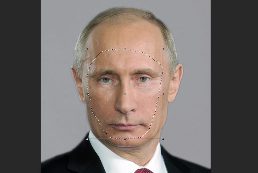 как вставить лицо в фото другое