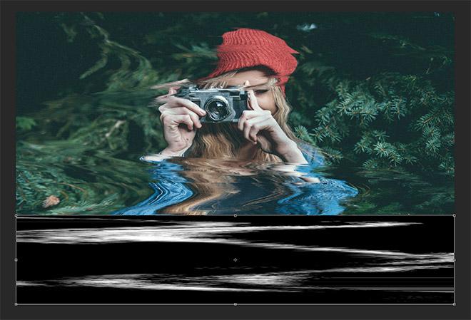 фильтр искривление в фотошопе shear