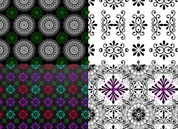 Фоны для фотошопа цветочные узоры