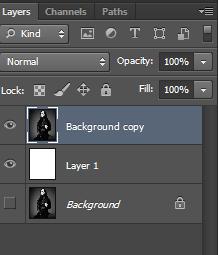 Как сделать белый фон в фотошопе