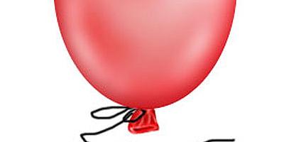 Нарисовать воздушный шар в фотошопе