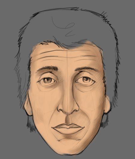 Как рисовать портрет человека.