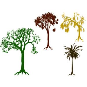 Фигуры деревьев 1