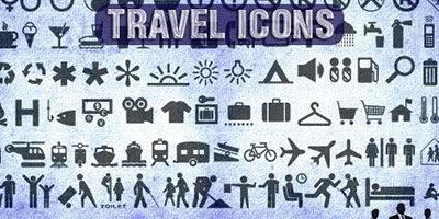 Иконки Travel (Путешествие)
