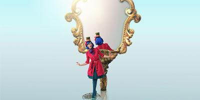 Создаем в фотошоп постер Алиса в Зазеркалье