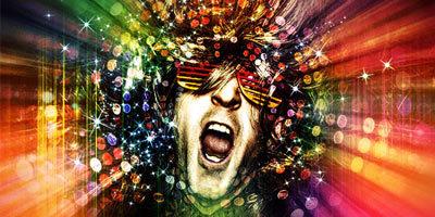 Создаем в фотошоп сумасшедший диско эффект