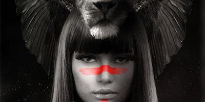 Создаем в Photoshop портрет с боевой раскраской