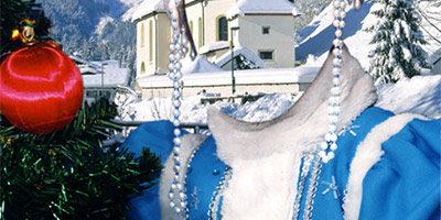 Шаблон для фото - Снегурка