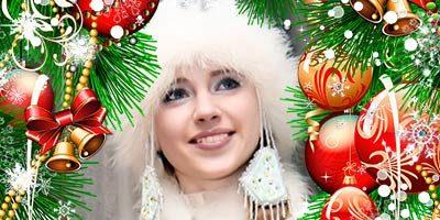 Новогодняя рамка для фотошопа бесплатно