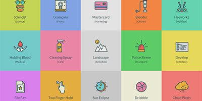 96 иконок которые удовлетворят любого