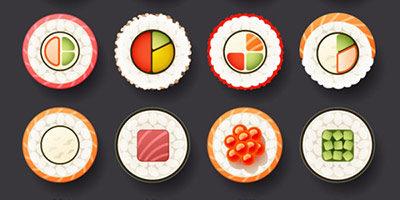 Иконки суши