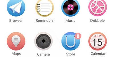 Современные иконки