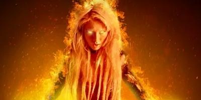 Видеоурок - Огненный портрет