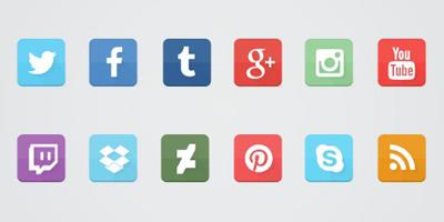 Как сделать иконки для социальных сетей в фотошопе