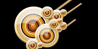 Векторные круги в стиле веб 2.0