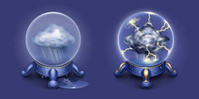 Иконки на тему погоды