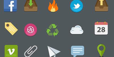 25 Wg Icons Set