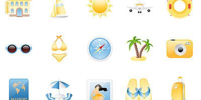 Летние иконки